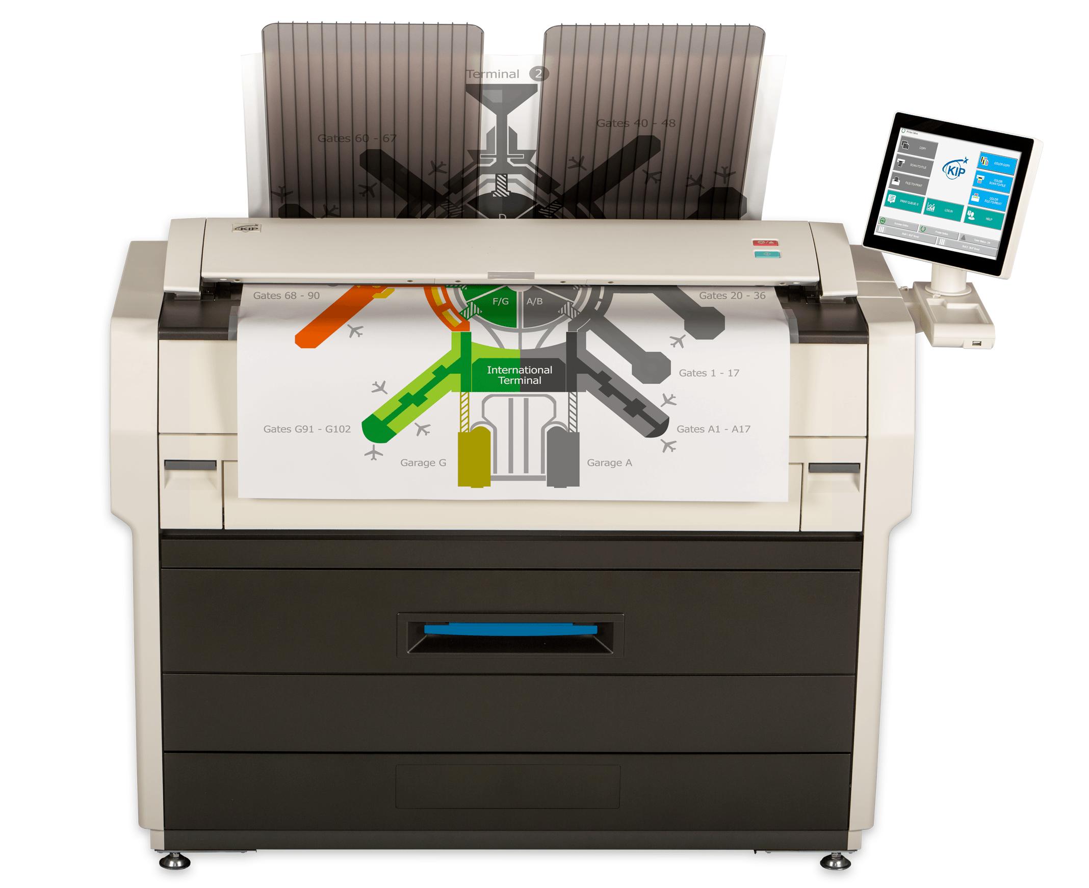 KIP 7170 Reprographics printer