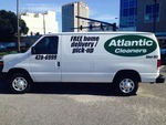 Atlantic Cleaners van graphics