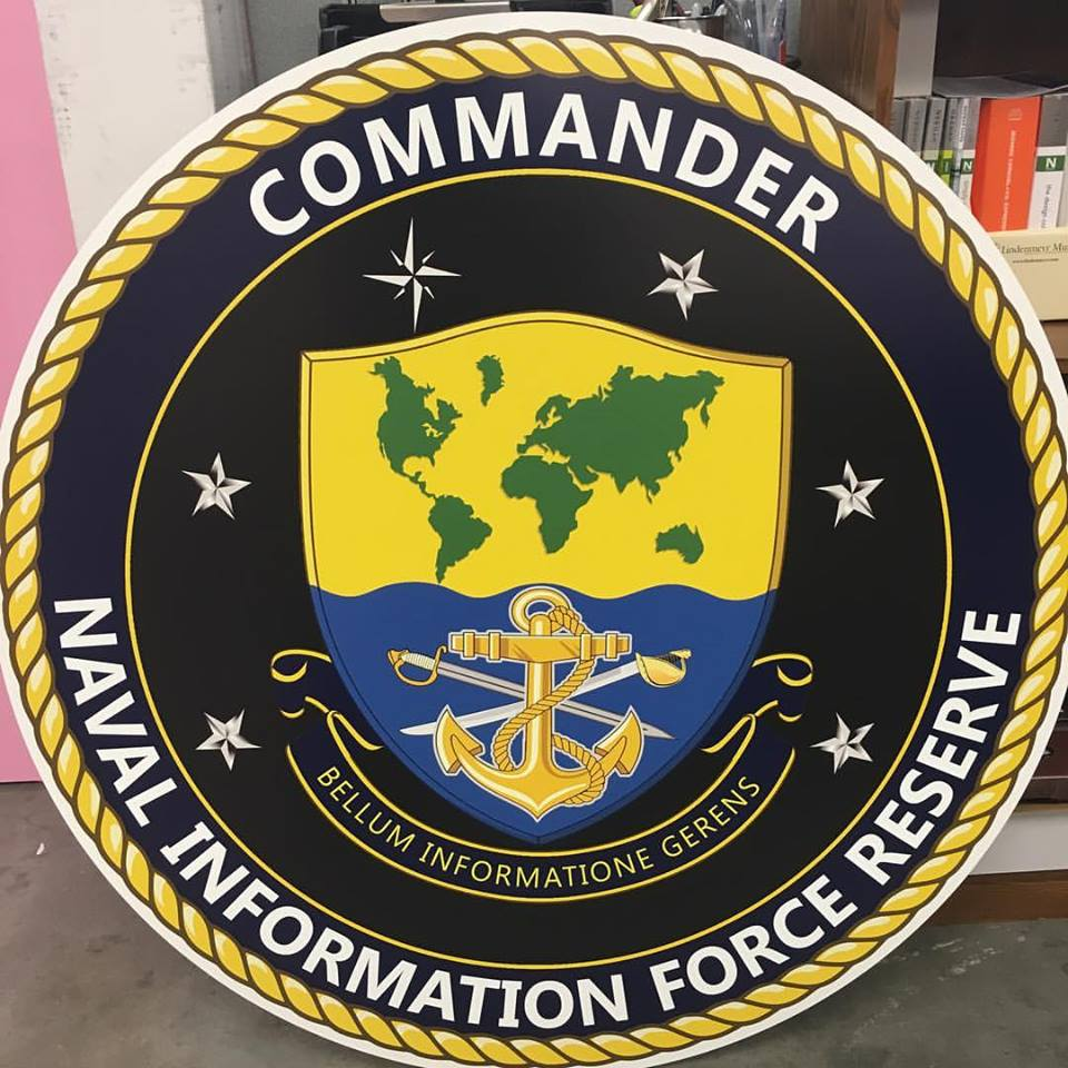 US Navy Commander sign